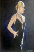 tableau personnages danse tango femme : Dance With Me