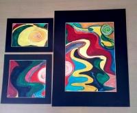127/ Intense colours A/B/C