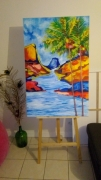 painting paysages : reve