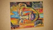 painting personnages : visage enfant