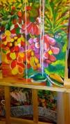 painting nature morte : salade de fruit