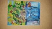 painting fleurs : fleur