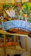 painting paysages : bel isle