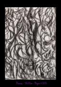 tableau abstrait visages caches ronces ensorcelees : Ronces