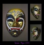 autres abstrait : Mask Yakscha