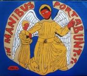 tableau personnages ange gardien dieu protection : ANGE GARDIEN