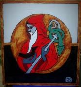 tableau personnages st benoÎt templiers protection : ST BENOÎT TEMPLIERS. Vendu