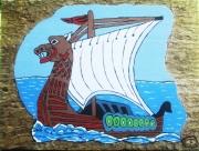 tableau marine rollon viking vikings normandie : Rollon Normandie