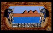 tableau architecture egypte pharaon fenetre paysage : ( An.2010 )pharaon. Vendu une copie différente sur demande