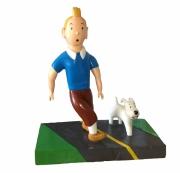 sculpture personnages herge tintin : Tintin