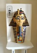 sculpture personnages egypte toutankhamon masque pharaon : Pharaon