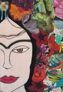 tableau personnages frida mexico : Viva Frida