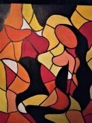 tableau personnages femme nue cubisme fauvisme montpellier : ou suis-je