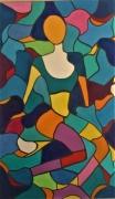tableau abstrait cubisme fauvisme sete montpellier : yma
