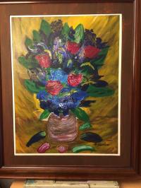 roses et iris