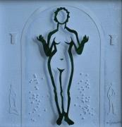 tableau nus decoupage 3d maillol : Hommage à A.Maillol