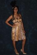 art textile mode bois robe art : Constantia