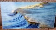 photo marine mer ocean vague bleu : La vague