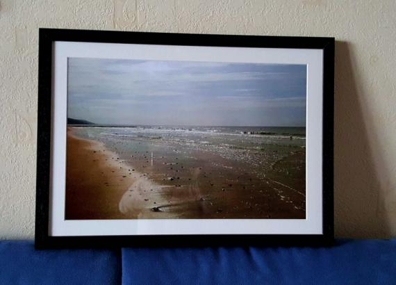 PHOTO Plage Arcachon Mer Coucher de soleil Paysages  - Plage