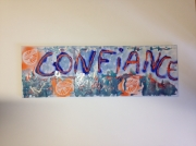 tableau abstrait confiance sophrologie ressource : Confiance