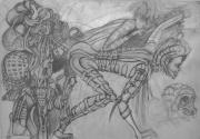 tableau personnages creatures : livre3 -66 (impression sur toile)