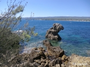 photo paysages mer cote d azur saint cyr sur mer randonnee : Saint Cyr sur mer