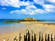 photo paysages st malo mer plage bretagne : St Malo