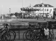 photo villes honfleur mnege velos port : Honfleur