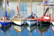 photo marine reflets bretagne marine bateaux : Couleurs marines