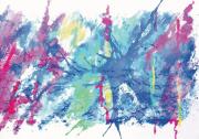 art numerique paysages carte animaux paysage art numerique : Vol de bernaches