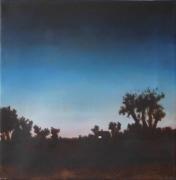 tableau paysages paysage ferme nuit roger butard : chez roger