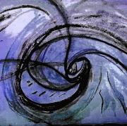 photo abstrait oeil tourbillon tourner rotation : tourbillon