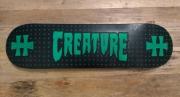 deco design autres skate hellfest rock posca : CREATURE HELLFEST