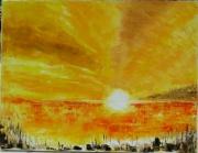 tableau paysages : bin el ouidane
