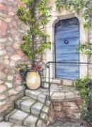 tableau paysages la porte saint paul de vence paysage maison : SAINT-PAUL-DE-VENCE