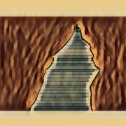 art numerique architecture sienne pyramide etrange couleur art numerique : Sienne 22