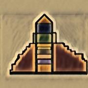 art numerique sienne pyramide couleur art numerique : Sienne 16
