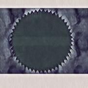 art numerique abstrait indigo abstrait sombre art numerique : Indigo 2