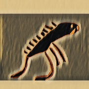 art numerique animaux sienne dinosaure couleur art numerique : Sienne 26