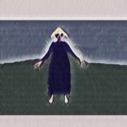 art numerique abstrait indigo abstrait couleur art numerique : Indigo 3