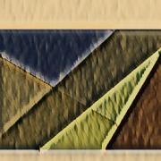 art numerique abstrait sienne abstrait couleur art numerique : Sienne 21