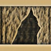 art numerique architecture sienne pyramide etrange couleur art numerique : Sienne 23