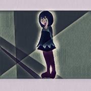 art numerique personnages indigo fille couleur art numerique : Indigo 4