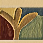art numerique paysages sienne arbre imaginaire couleur art numerique : Sienne 27