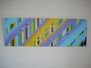 deco design abstrait peinture toile art contemporain decoration : Cryptage