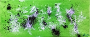 tableau abstrait theeau blanc vert : Thé Eau... (MG 25,58)... 180641...01.2018