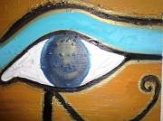 tableau autres horus oeil egypte orient : Horus OEil
