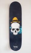 deco design personnages crane chapeau skate splash : Hat