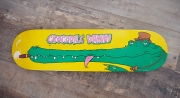 deco design animaux crocodile dandy cigare skate : Dandy