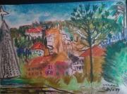 tableau : des pastels figuratifs et libres